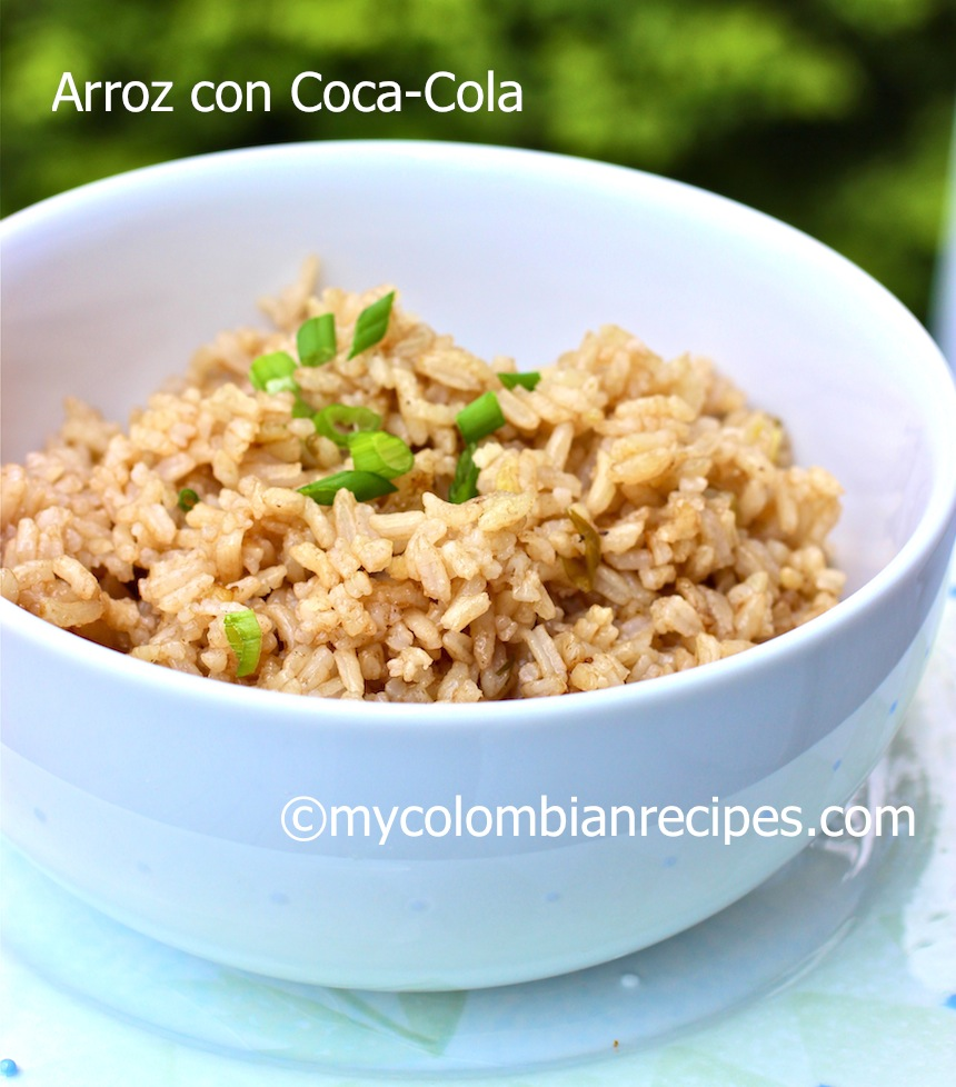 Arroz con Coca Cola Colombiano