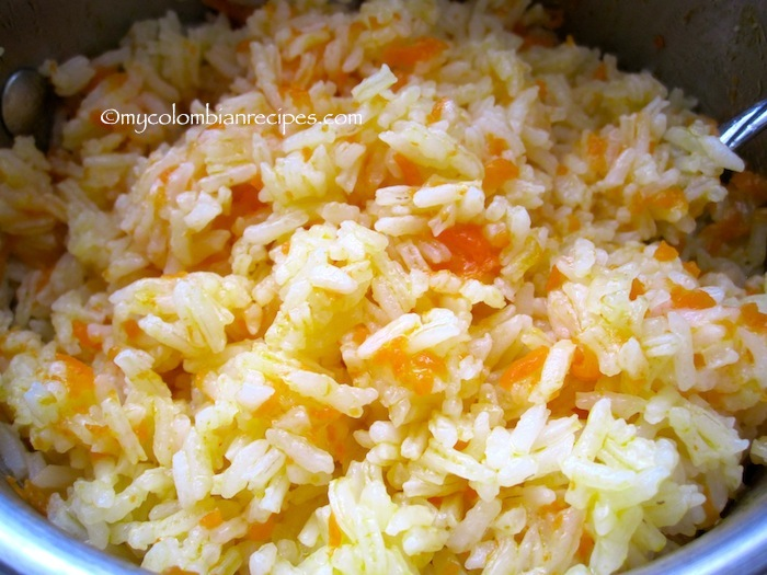 Arroz con Zanahoria (Rice with Carrots)