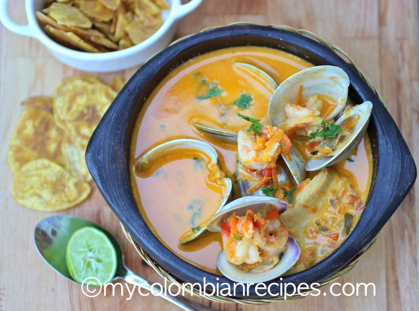 How to make Cazuela de Mariscos