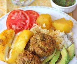 Sudado de albondigas-recetas colombianas