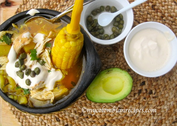 Ajiaco Colombiano (Colombian Chicken and Potato Soup) | My ...