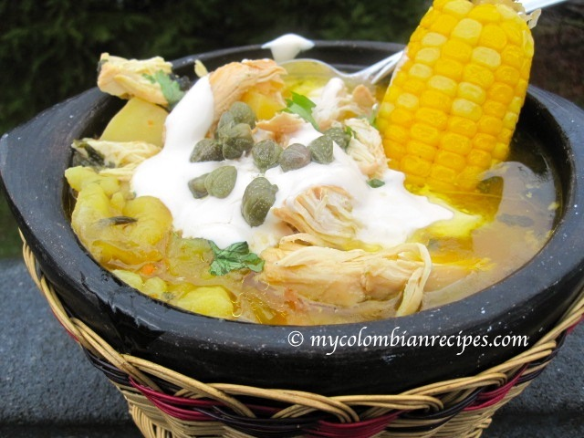 Ajiaco Colombiano Colombian Chicken And Potato Soup My