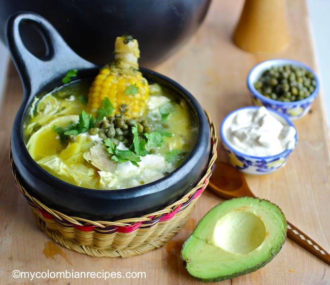 Ajiaco Colombiano Colombian Chicken And Potato Soup My Colombian Recipes