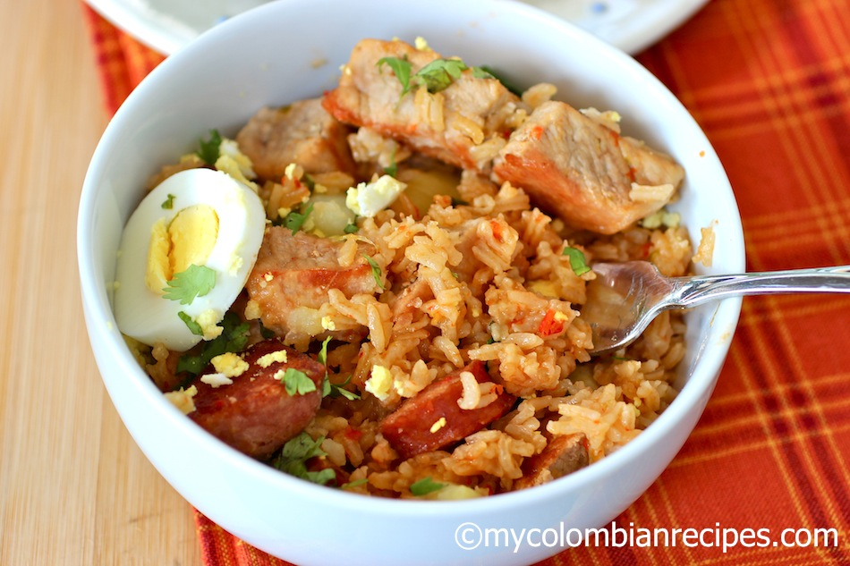 Arroz Atooado Colombiano Recipe