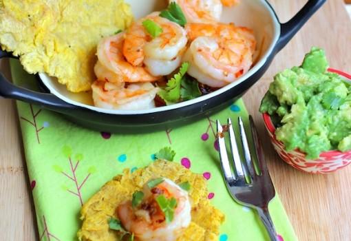 Camarones al Ajillo (Shrimp in Garlic Sauce) |mycolombianrecipes.com