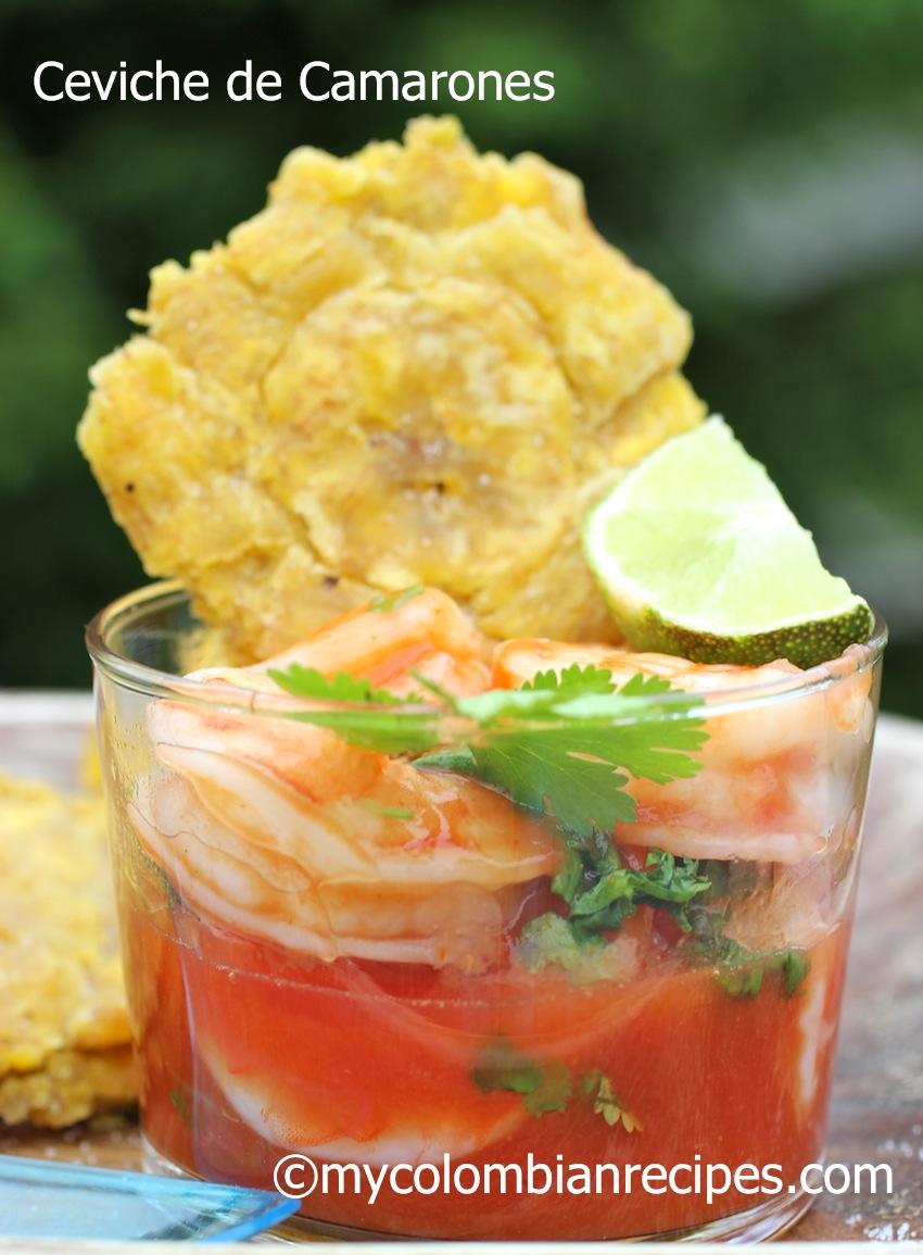 ceviche de camarones or receta de ceviche de camarones shrimp ceviche ...