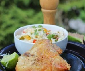 Chicken with Honey and Lime (Pollo al Limón y Miel) |mycolombianrecipes.com