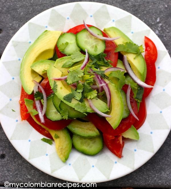 Ensalada De Aguacate Y Tomate My Colombian Recipes