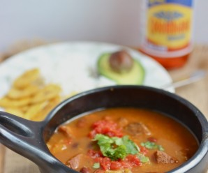 Frijoles Colombianos (Colombian-Style Beans) |mycolombianrecipes.com