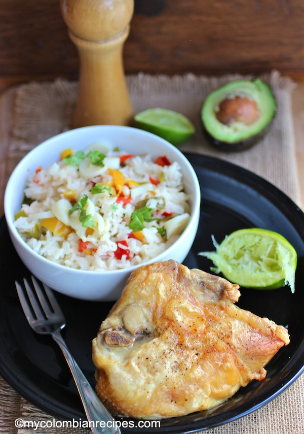 Chicken with Honey and Lime (Pollo al Limón y Miel)