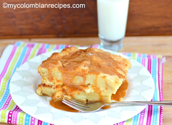 Recetas Colombianas-Bread Pudding