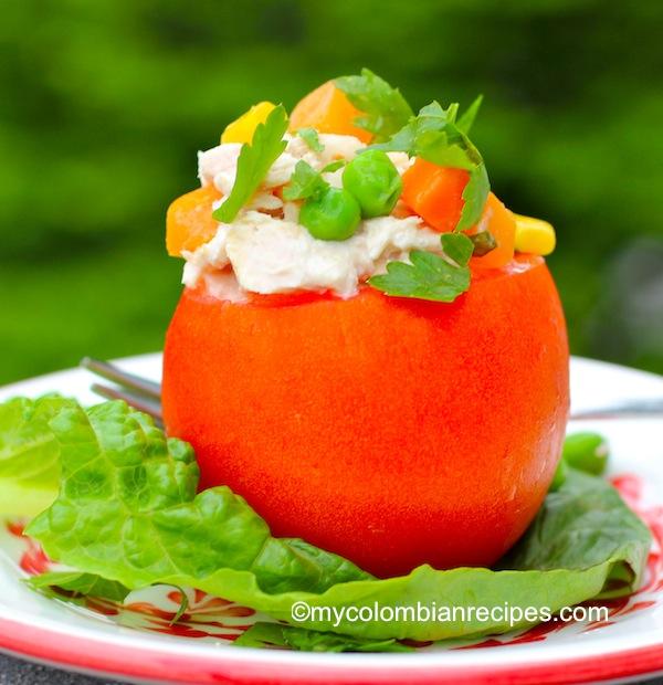 Como hacer tomates rellenos