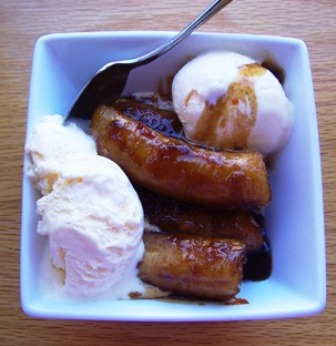 banano-calados or Colombian Fried Bananas