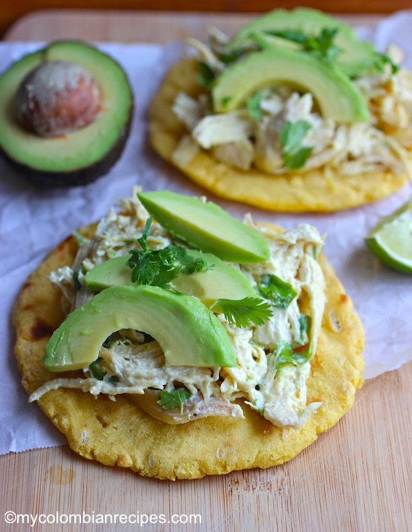 Arepa with Chicken