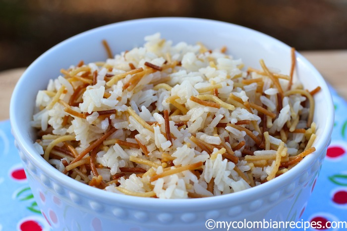 My Colombian Recipes-Arroz