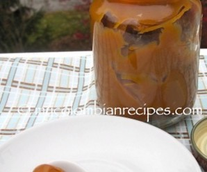 Homemade Arequipe or Dulce de Leche |mycolombianrecipes.com