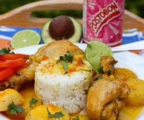 Sudado de Pollo (Colombian-Style Chicken Stew) |mycolombianrecipes.com