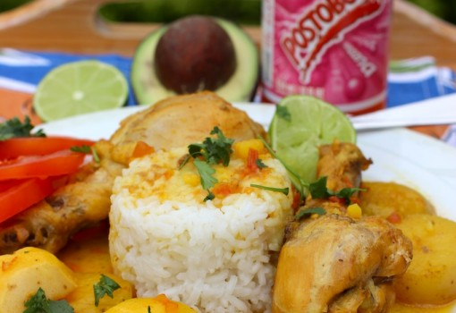 "<span class=""p-name"">Sudado de Pollo (Colombian-Style Chicken Stew)</span>"