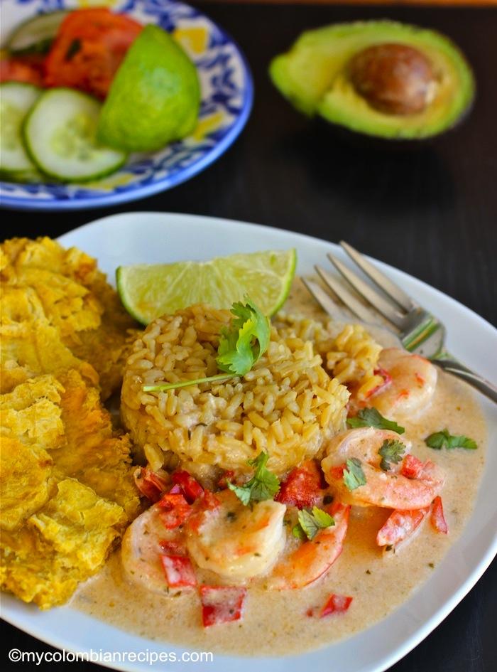 Camarones A La Criolla Con Coco Creole And Coconut Shrimp My