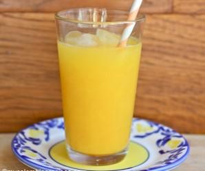 Mango Juice (jugo de Mango)|mycolombianrecipes.com