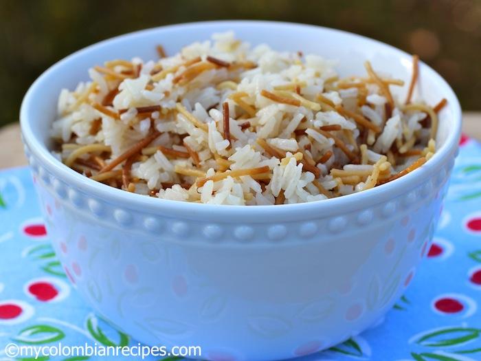 Angel hair rice