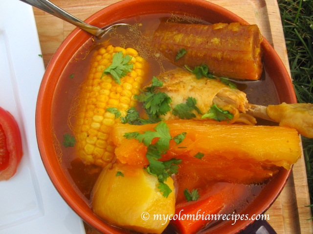 Sancocho de gallina chicken or hen sancocho my colombian recipes sancocho forumfinder Gallery