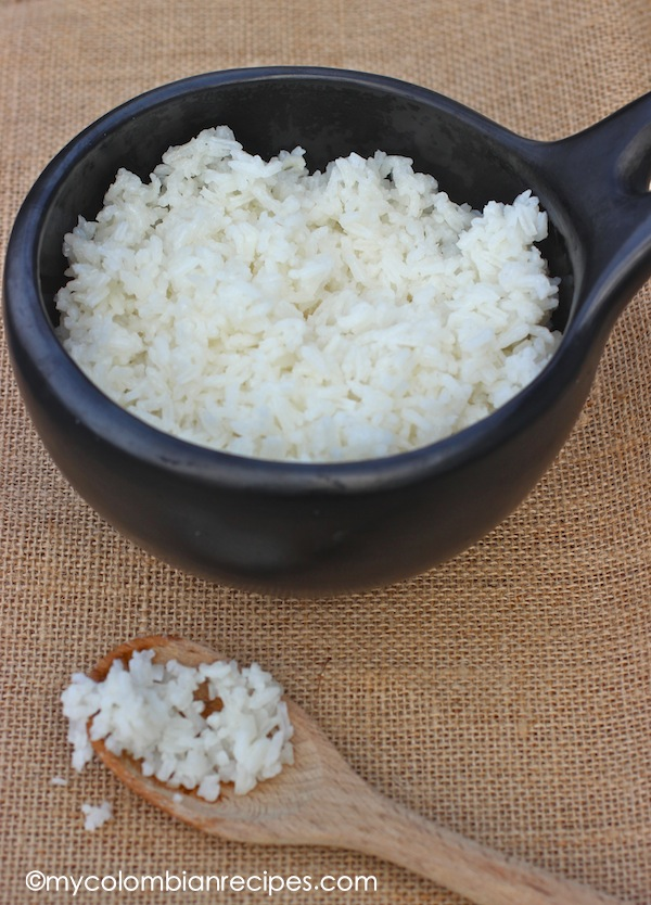 Arroz Blanco Colombian Style White Rice My Colombian