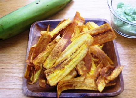 platanitos or plantain chips