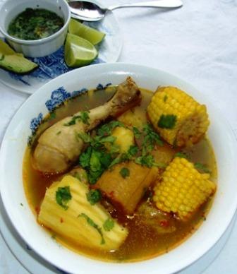 sancocho de gallina chicken or hen sancocho my
