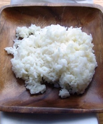 White Rice or arroz Blanco