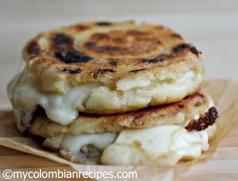 Cheese Stuffed Corn Cakes Arepas Rellenas De Queso My