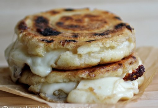 "<span class=""p-name"">Cheese Stuffed Corn Cakes (Arepas Rellenas de Queso)</span>"