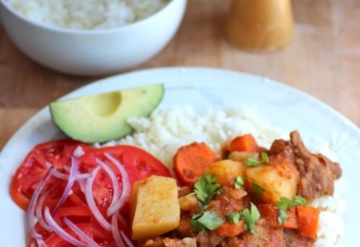Estofado de Carne (Beef Stew) |Mycolombianrecipes.com