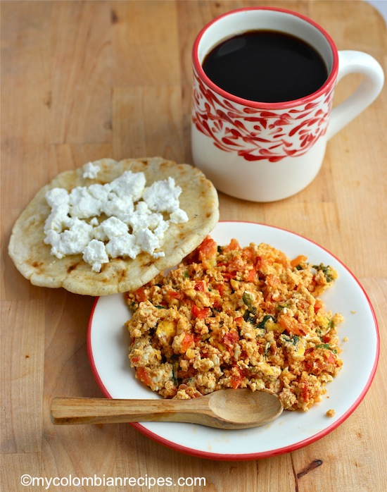 Huevos Pericos is a quick and easy egg recipe and one of the most ...