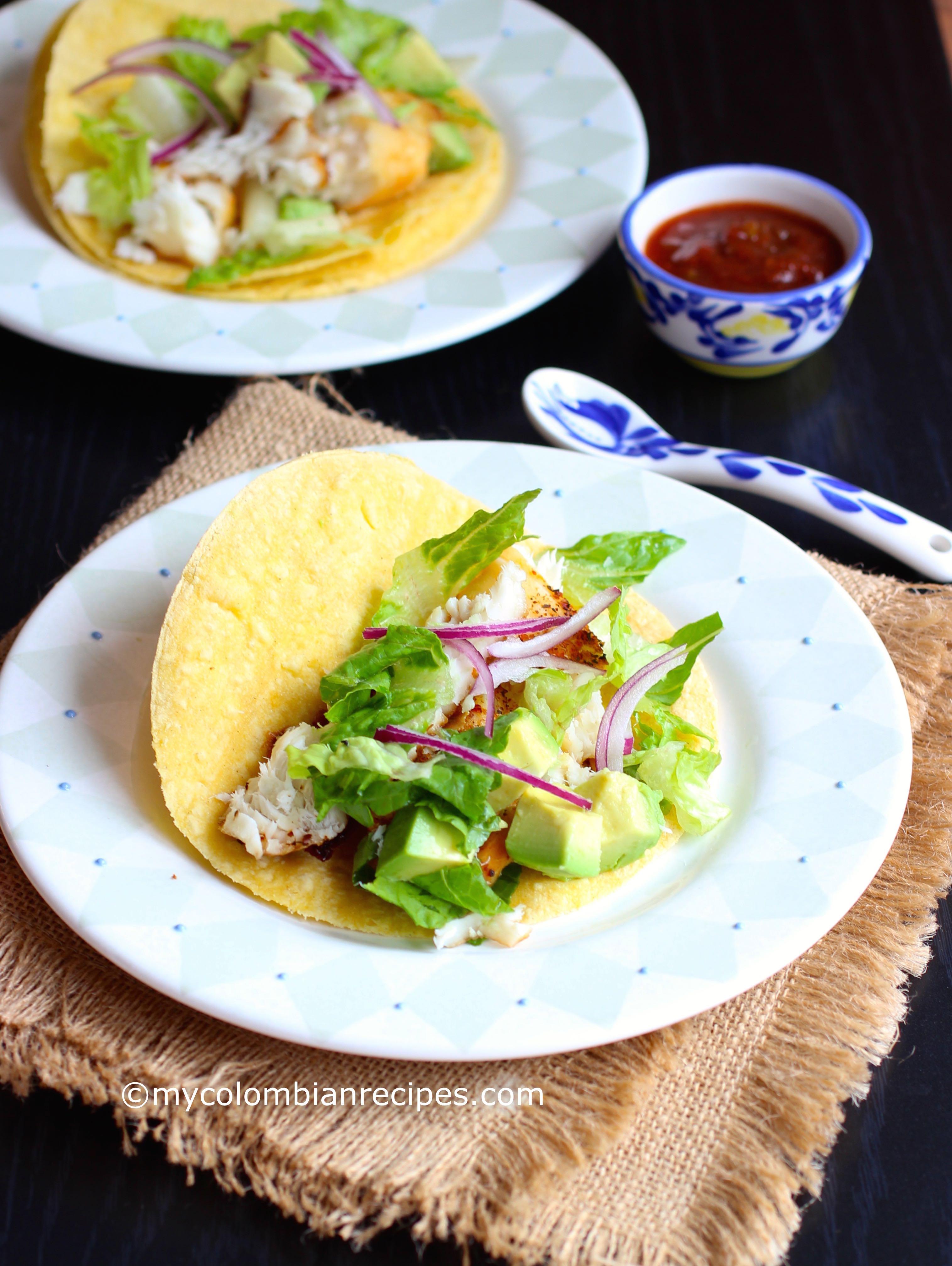 Tilapia Fish Tacos (Tacos de Tilapia) | My Colombian Recipes