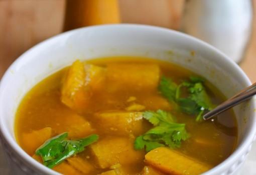 Sopa de Plátano Verde |mycolombianrecipes.com