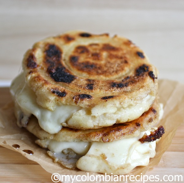Cheese-Stuffed Colombian-style Arepas Recipes — Dishmaps