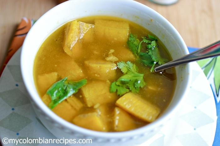 Plantain Soup (Sopa de Plátano) | My Colombian Recipes