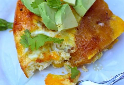 Tortilla Paisa o Antioqueña (Ripe Plantain and Chorizo Omelette) |mycolombianrecipes.comd