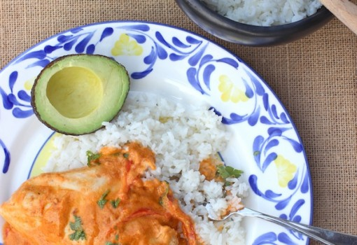 Pollo con Leche de Coco (Chicken in Coconut Mil)