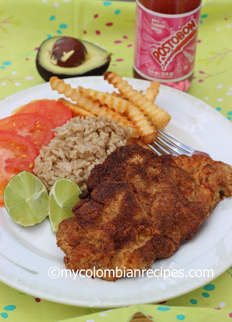 Colombian Breaded Pork Cutlets Chuleta Valluna O Lomo De Cerdo Apanado My Colombian Recipes