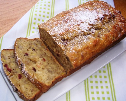 Banana and Orange Bread