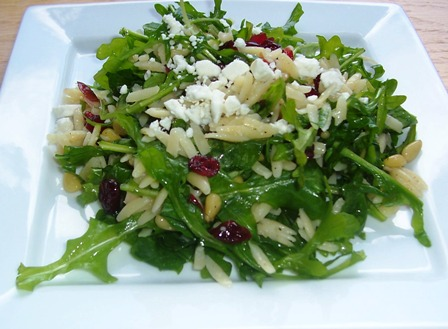 Orzo and Arugula Salad