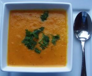 Carrot Soup (Sopa de Zanahoria)