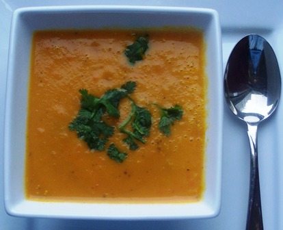 Sopa de Zanahoria or Carrot Soup