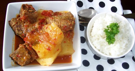 Sudado de Carne de Res or Colombian Beef Stew