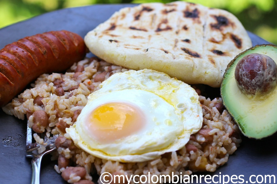 style sausage n beans colombian style beans and rice post our colombia ...