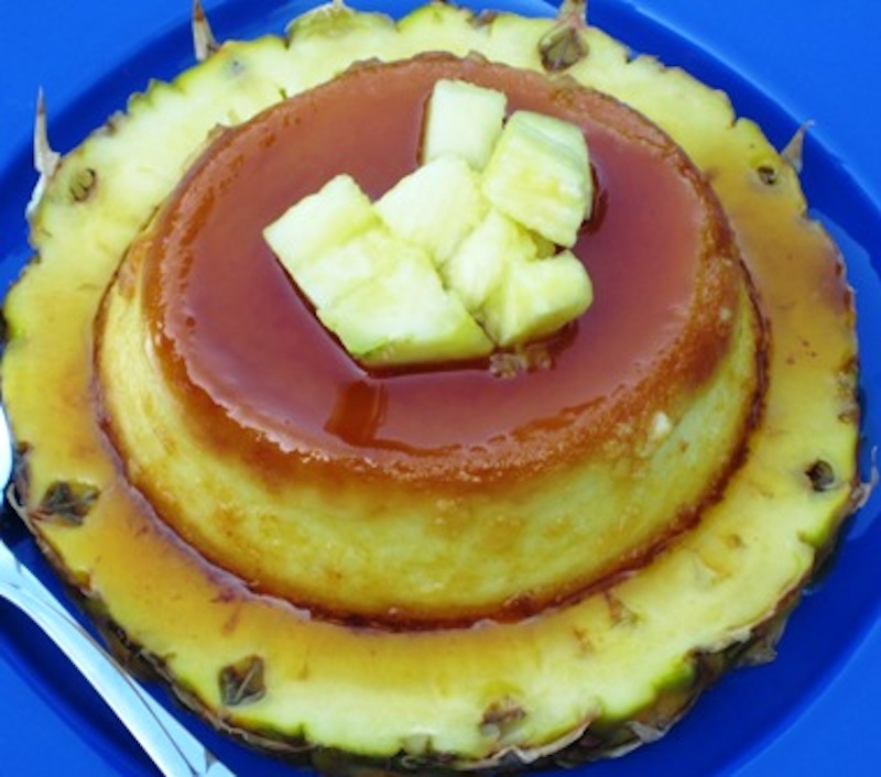pineapple flan flan de pi a my colombian recipes