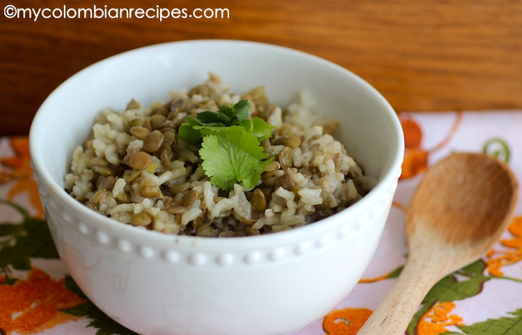 Rice with Coconut and Lentils (Arroz con Coco y Lentejas) | My ...