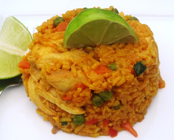Arroz Con Pollo Recipe — Dishmaps